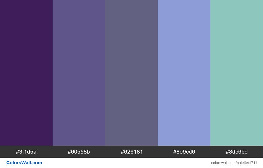 #colorswall palette #945 - #1711
