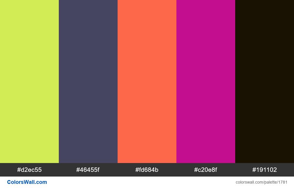#colorswall random #1001 - #1781