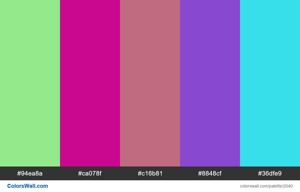 #colorswall random #1127 - #2040