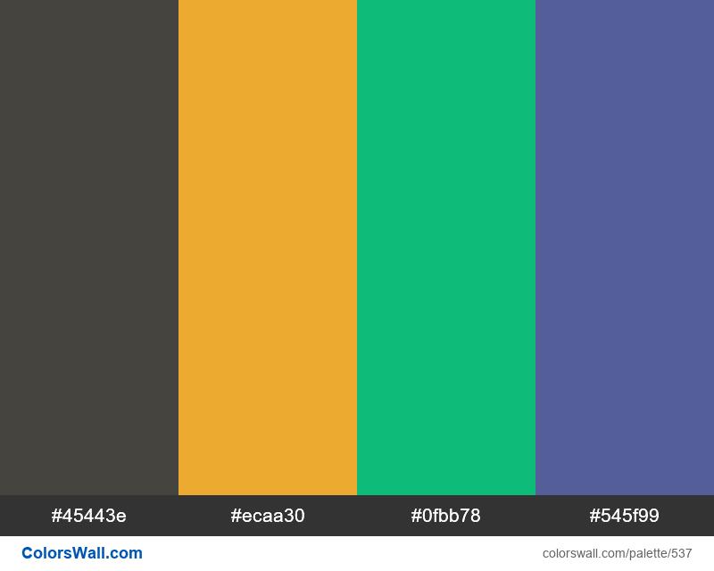 #colorswall random #113 colors palette - #537