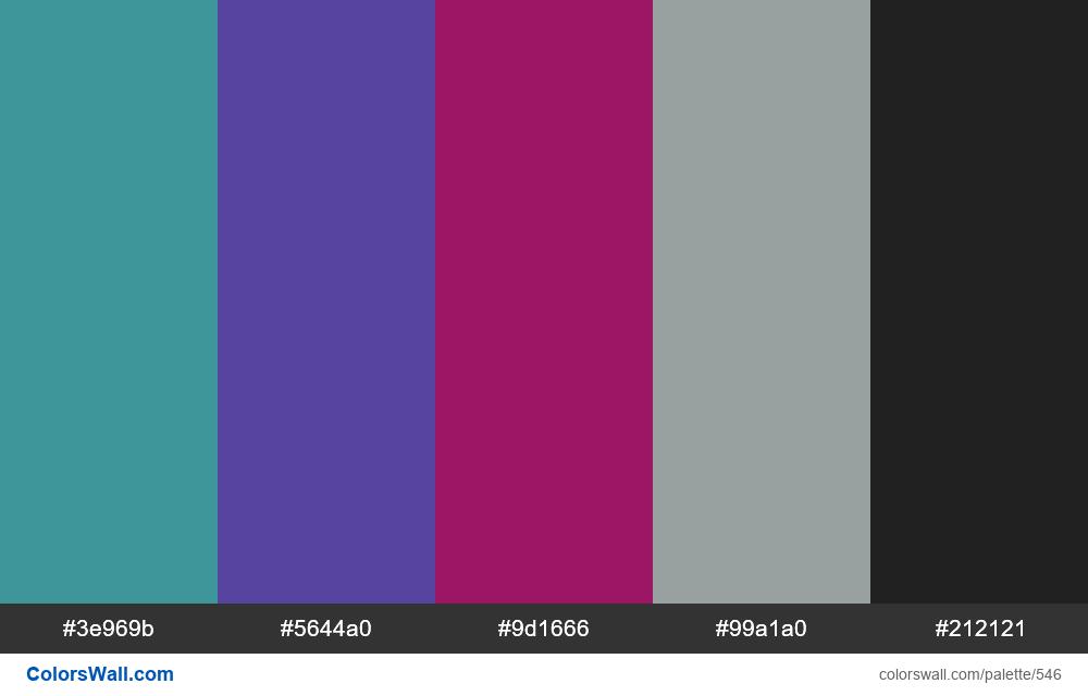 #colorswall random #122 colors palette - #546