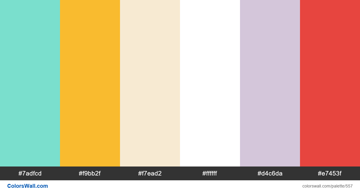#colorswall random #133 colors palette - #557
