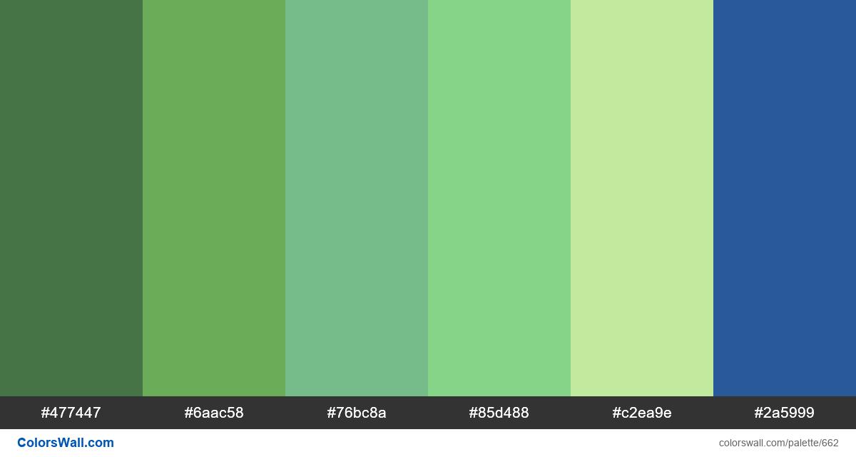 #colorswall random #200 colors palette - #662