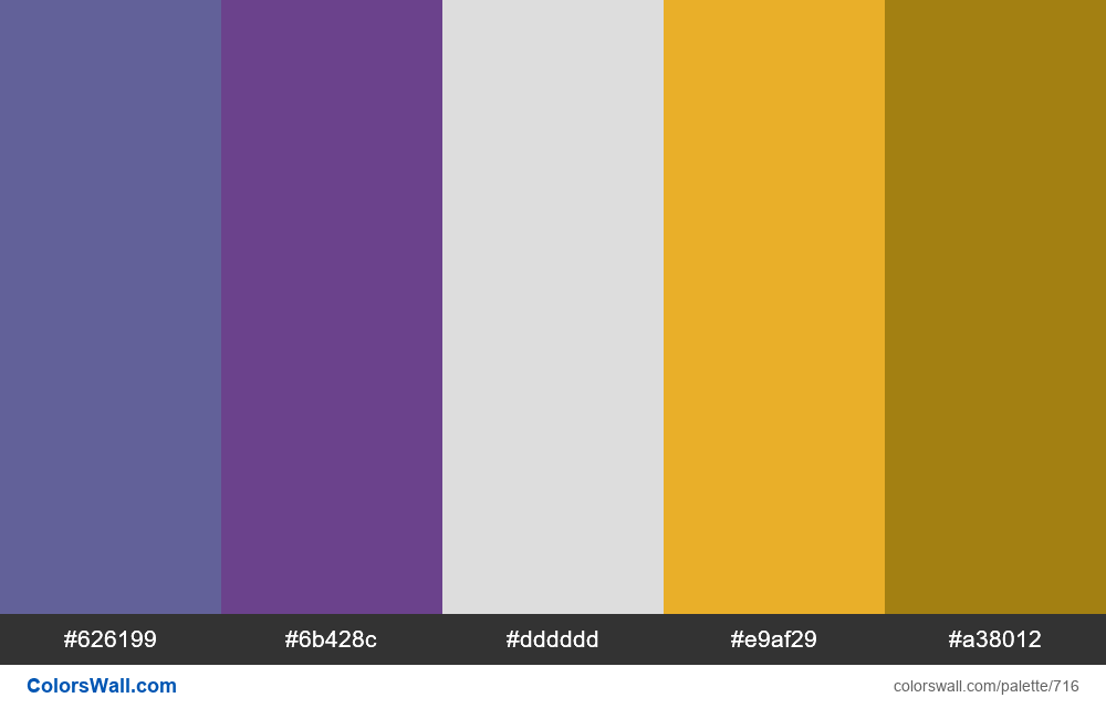 #colorswall random #249 colors palette - #716