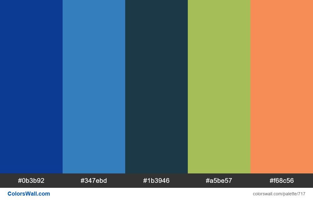 #colorswall random #250 colors palette - #717
