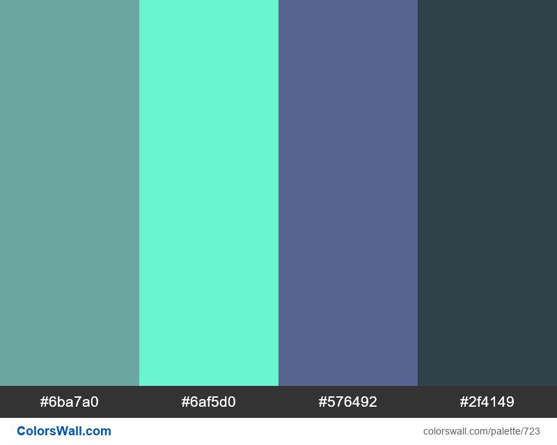 #colorswall random #256 colors palette - #723