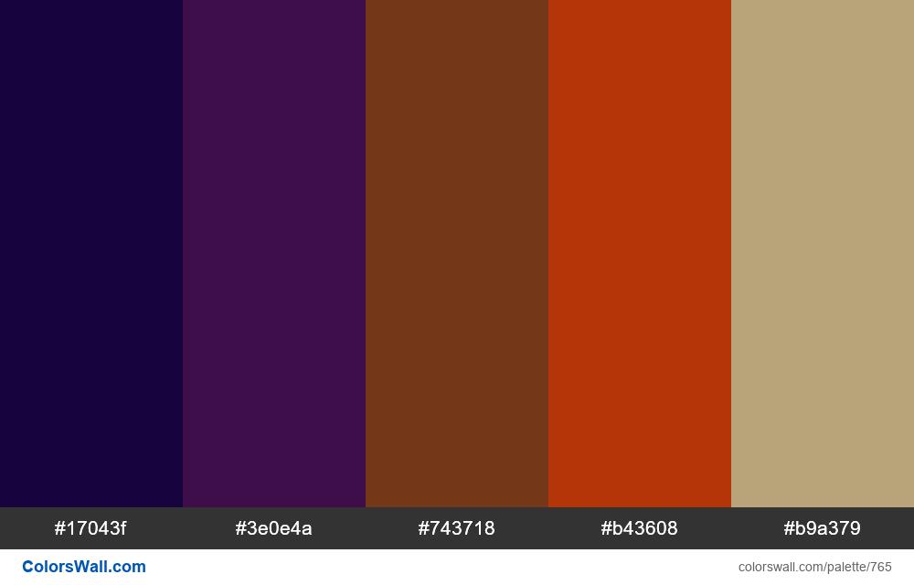 #colorswall random #298 colors palette - #765