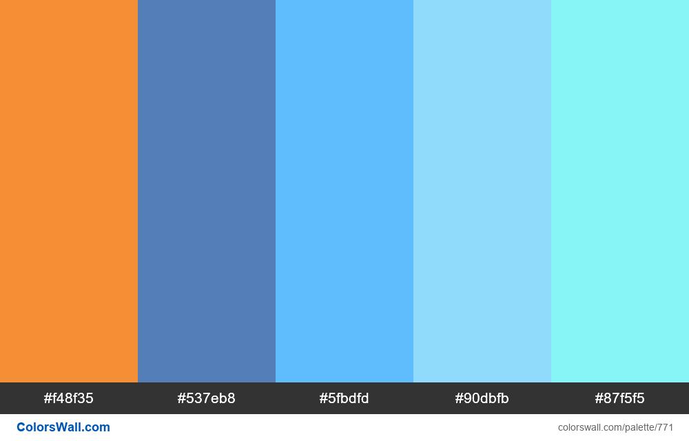 #colorswall random #304 colors palette - #771