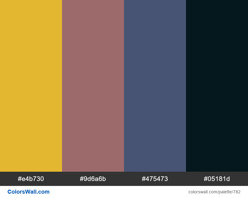 #colorswall random #315 colors palette - #782