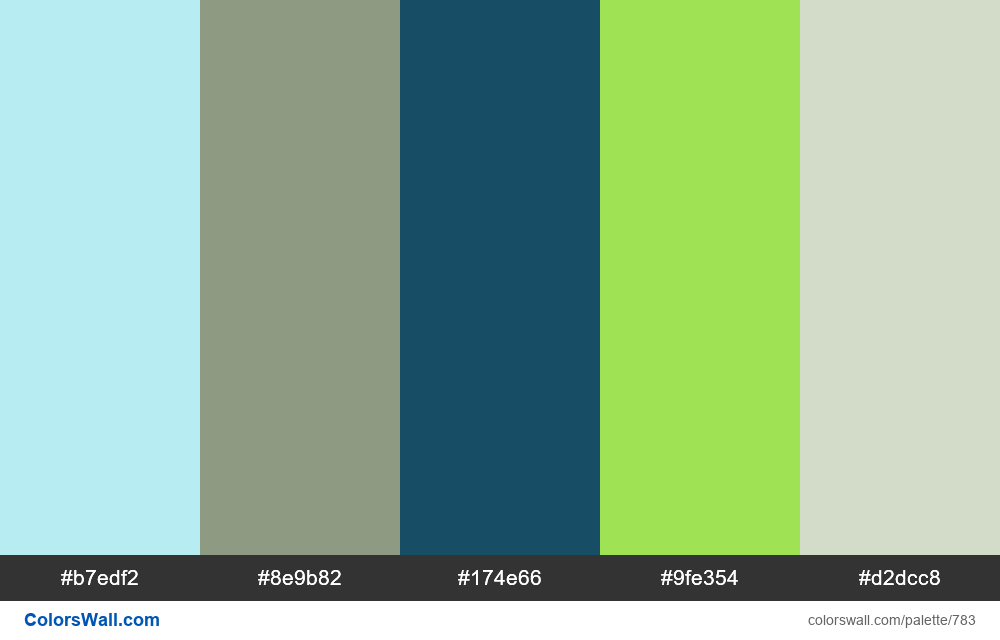 #colorswall random #316 colors palette - #783
