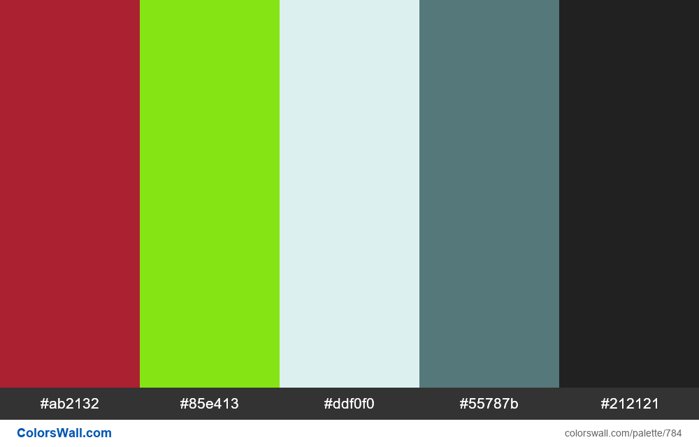 #colorswall random #317 colors palette - #784