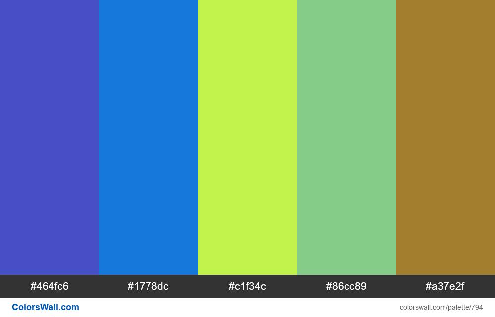 #colorswall random #326 colors palette - #794