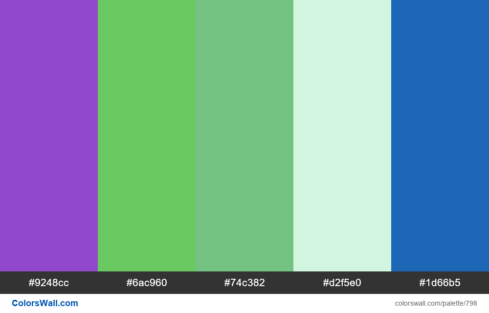 #colorswall random #330 colors palette - #798