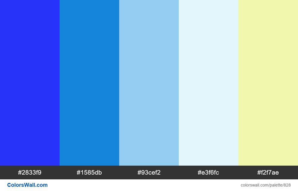 #colorswall random #356 colors palette - #828