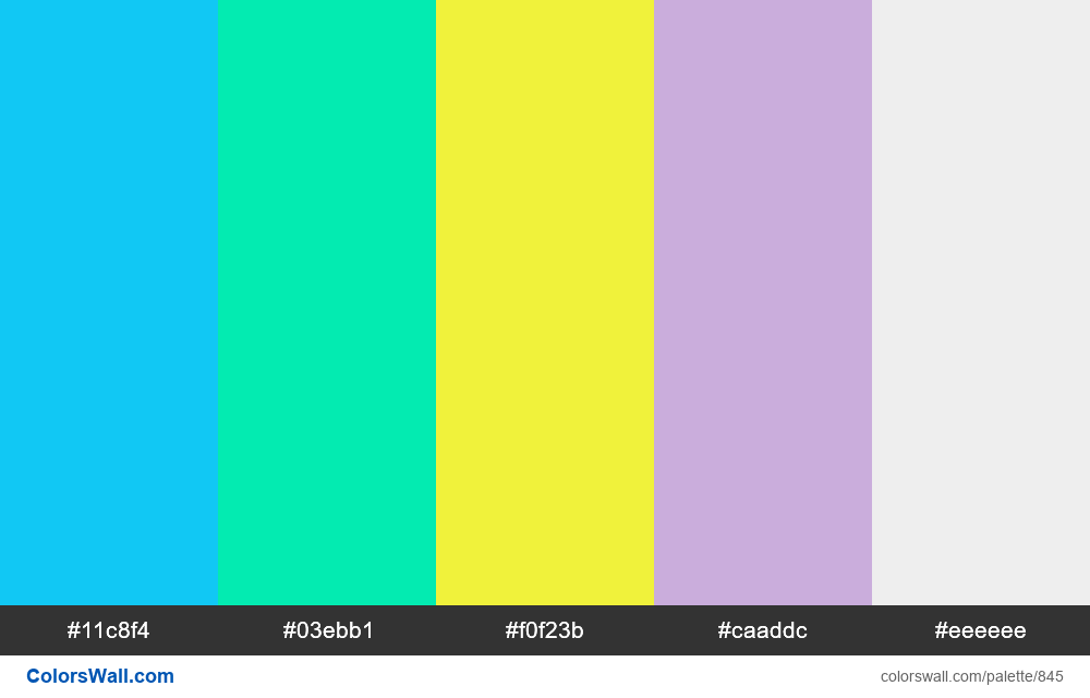 #colorswall random #373 colors palette - #845