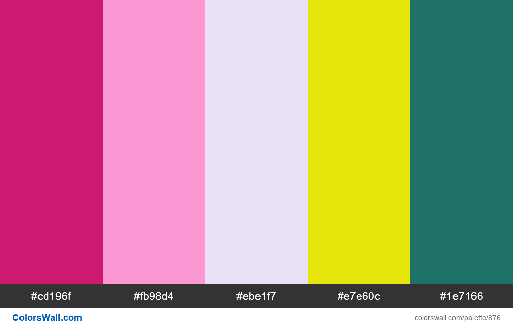 #colorswall random #402 colors palette - #876