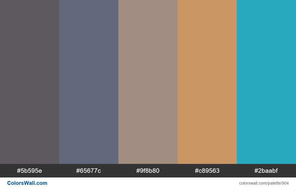#colorswall random #420 colors palette - #904