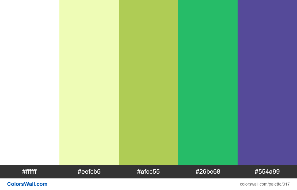 #colorswall random #433 colors palette - #917
