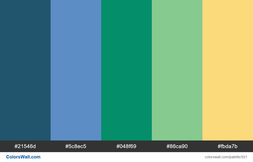 #colorswall random #436 colors palette - #921
