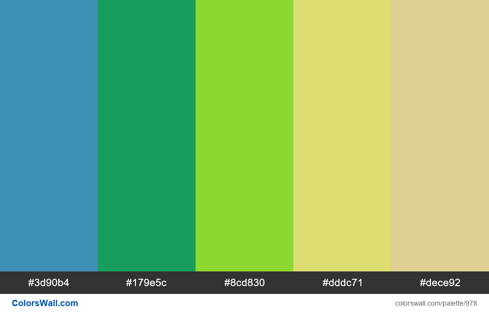 #colorswall random #474 colors palette - #978