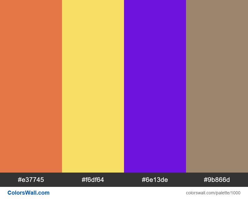 #colorswall random #495 colors palette - #1000
