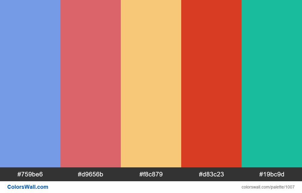 #colorswall random #501 colors palette - #1007