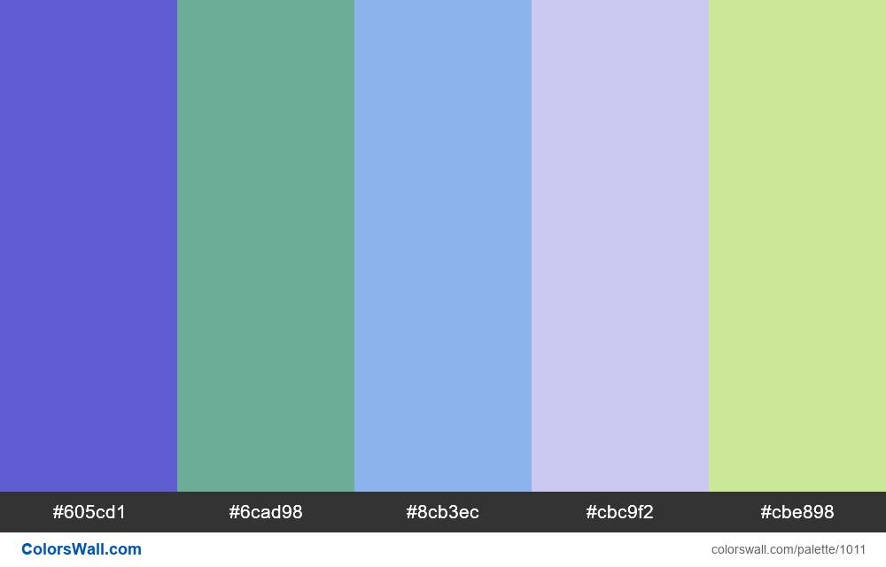 #colorswall random #505 colors palette - #1011