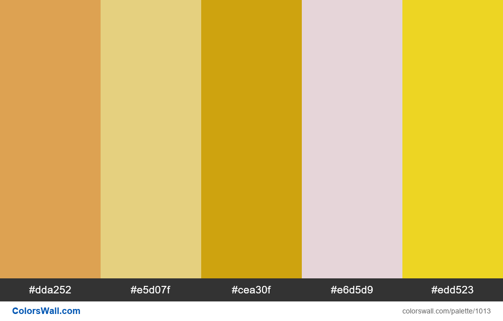 #colorswall random #507 colors palette - #1013
