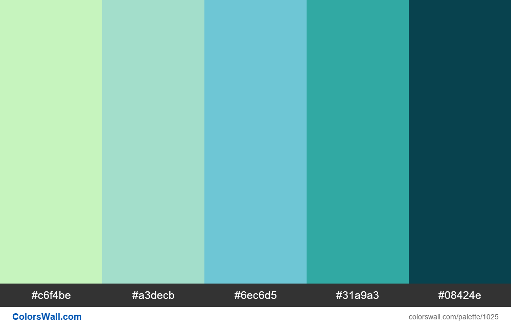 #colorswall random #518 colors palette - #1025