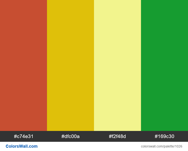 #colorswall random #519 colors palette - #1026