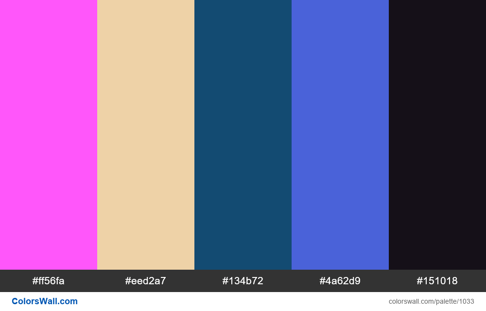 #colorswall random #521 colors palette - #1033