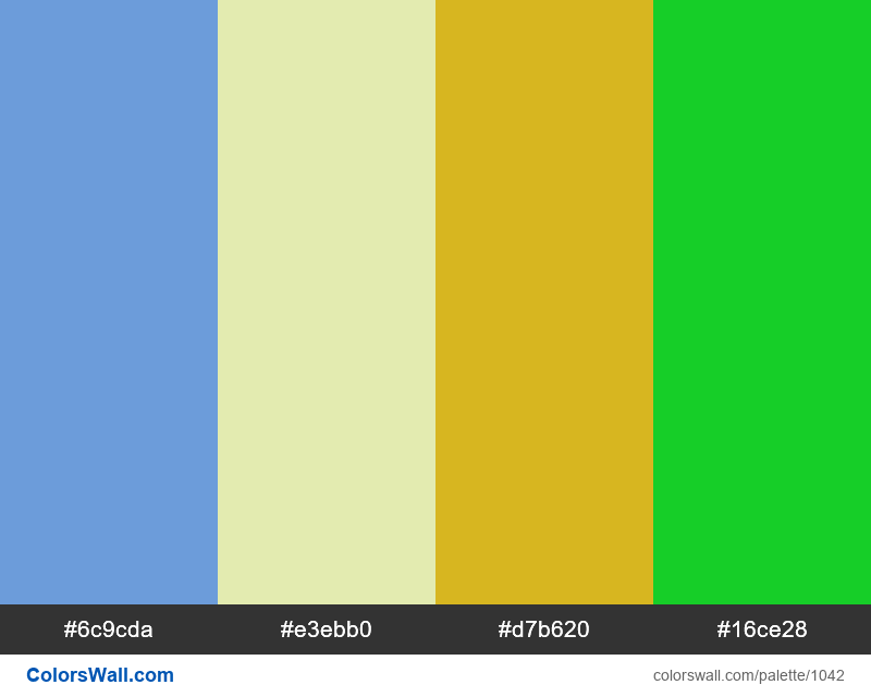 #colorswall random #525 colors palette - #1042