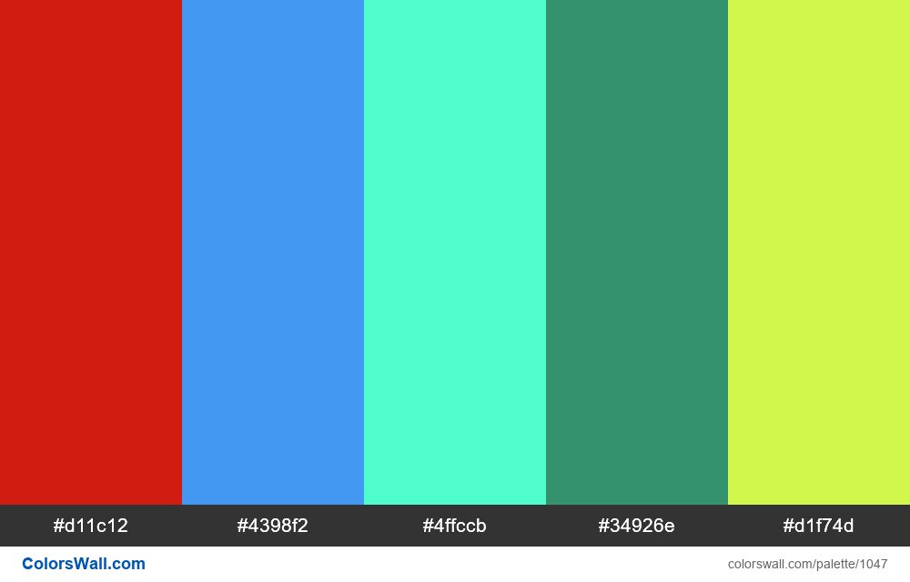 #colorswall random #530 colors palette - #1047