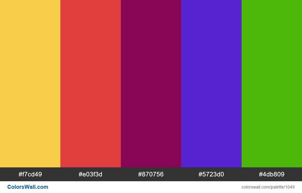#colorswall random #532 colors palette - #1049