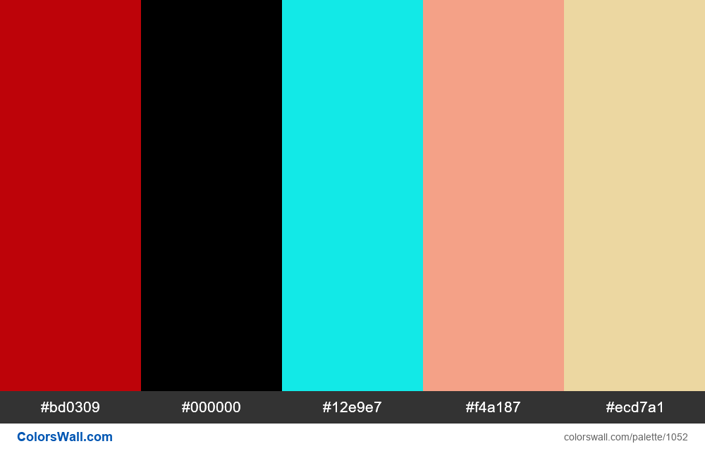 #colorswall random #535 colors palette - #1052