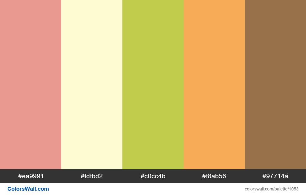#colorswall random #536 colors palette - #1053