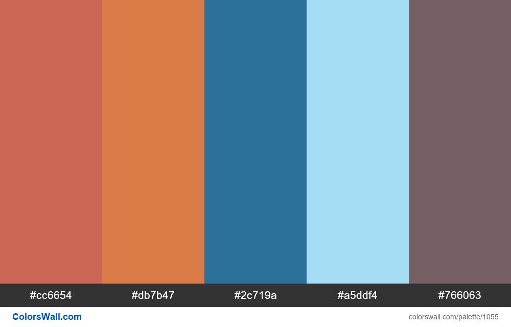 #colorswall random #538 colors palette - #1055