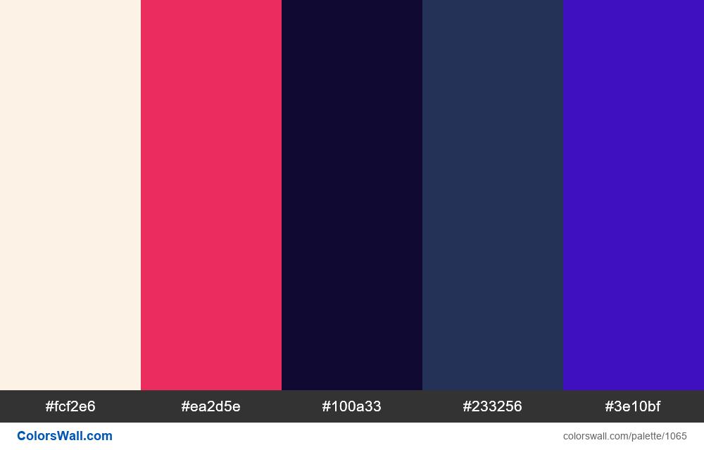 #colorswall random #546 colors palette - #1065