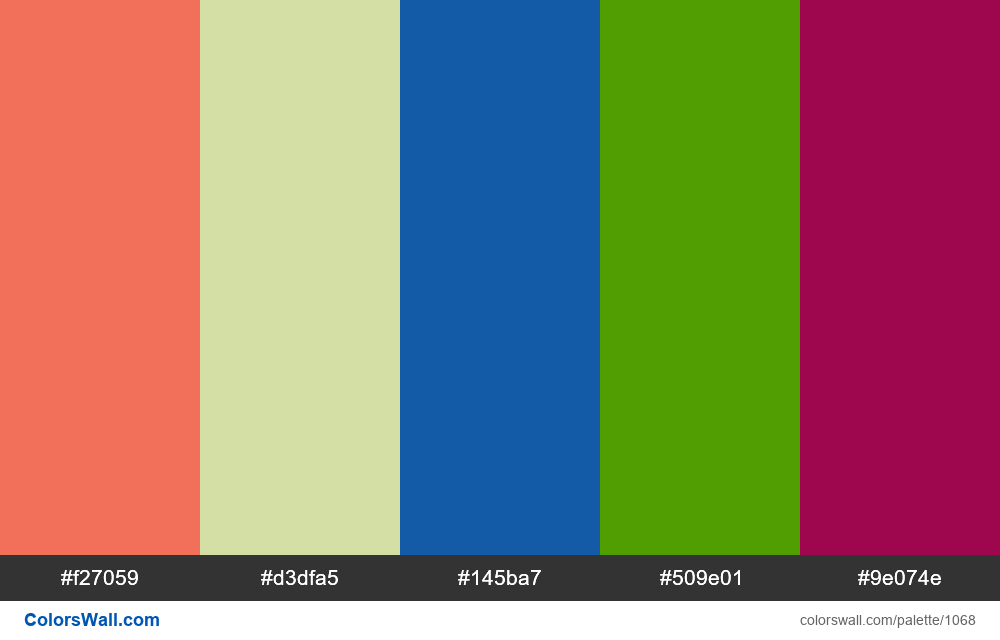 #colorswall random #548 colors palette - #1068