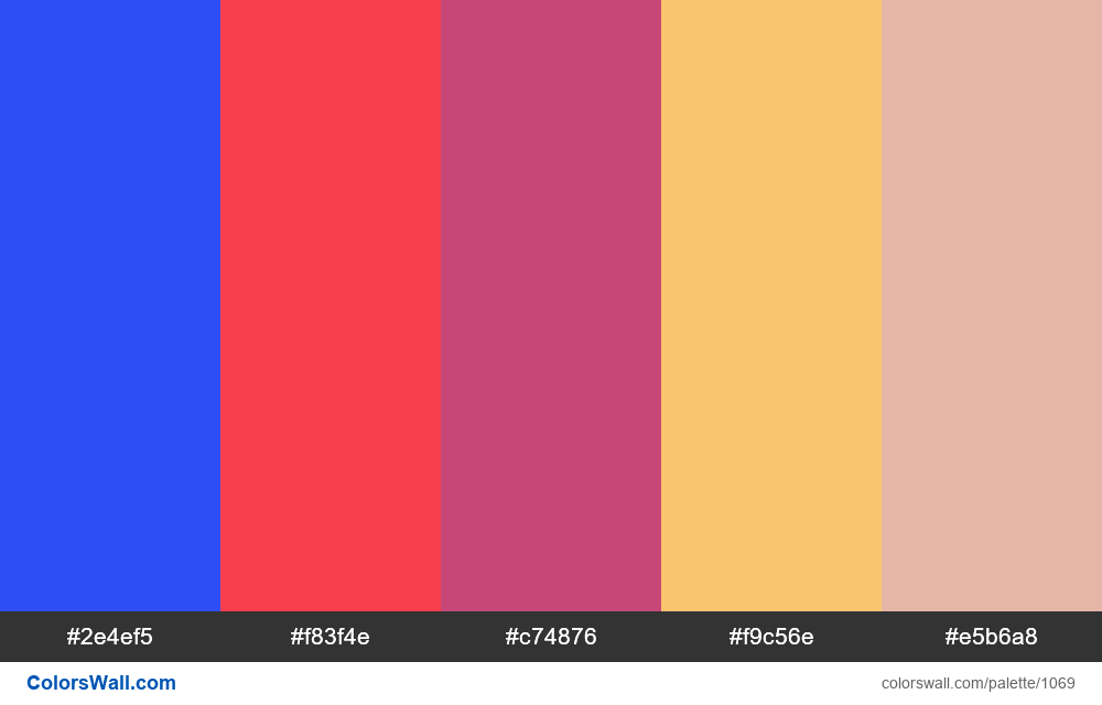 #colorswall random #549 colors palette - #1069