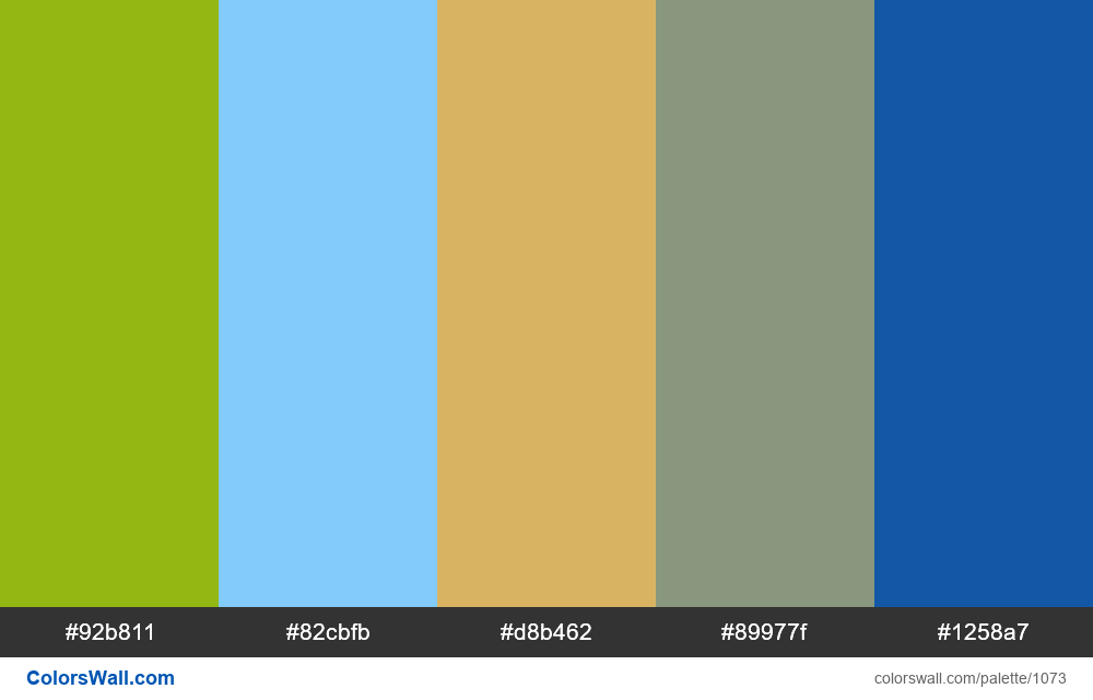 #colorswall random #553 colors palette - #1073