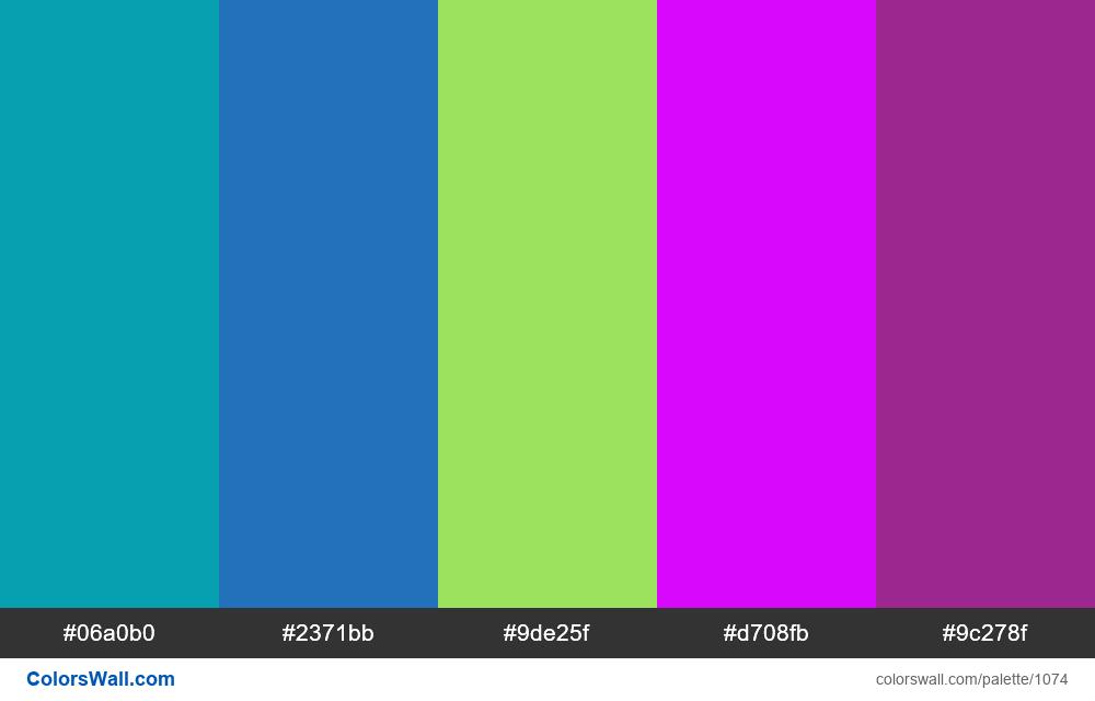 #colorswall random #554 colors palette - #1074