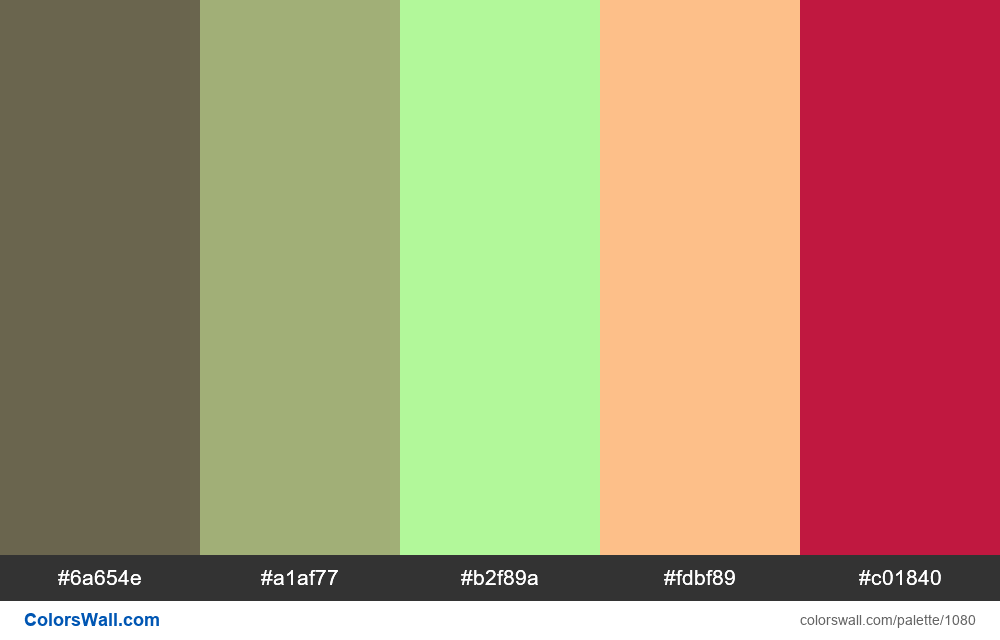 #colorswall random #560 colors palette - #1080