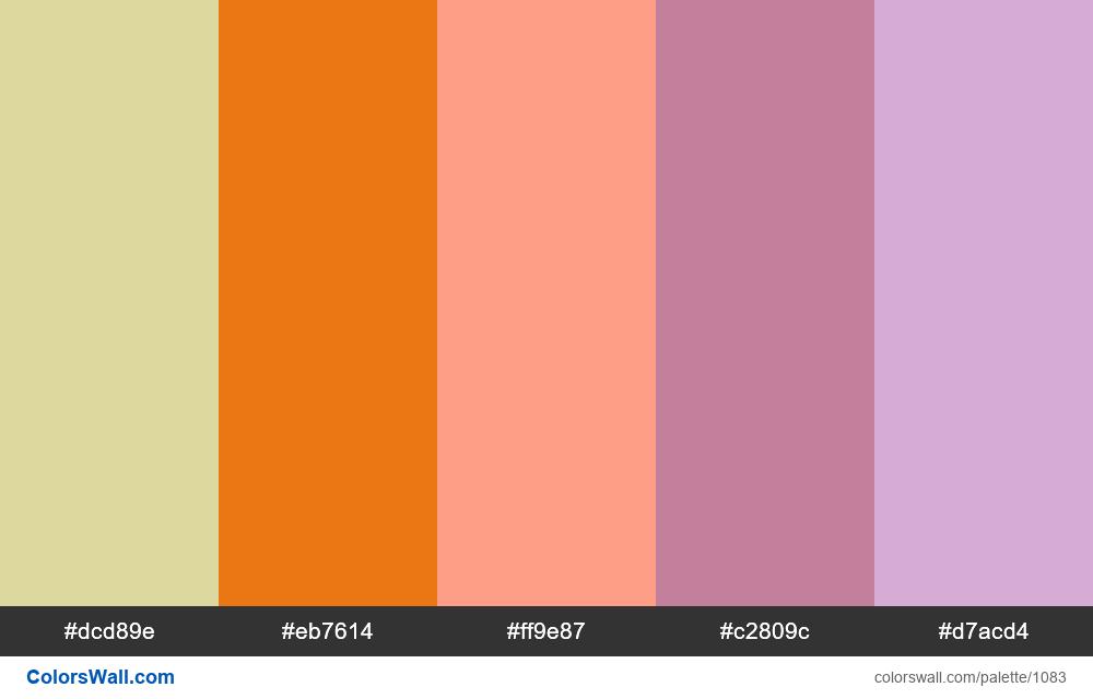 #colorswall random #563 colors palette - #1083