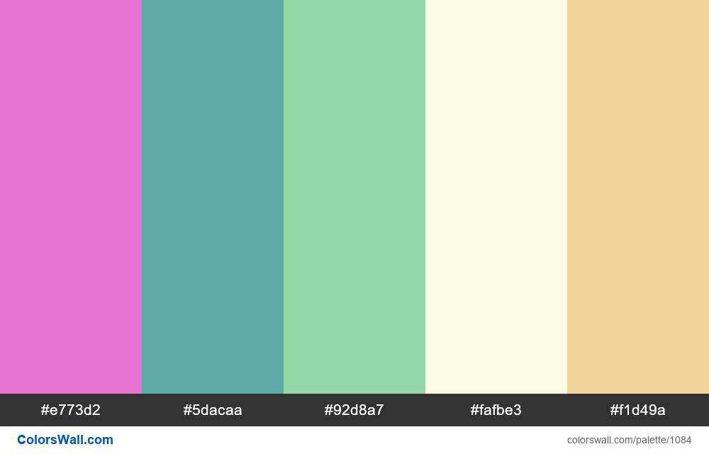 #colorswall random #564 colors palette - #1084
