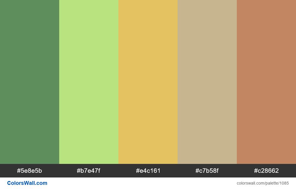 #colorswall random #565 colors palette - #1085