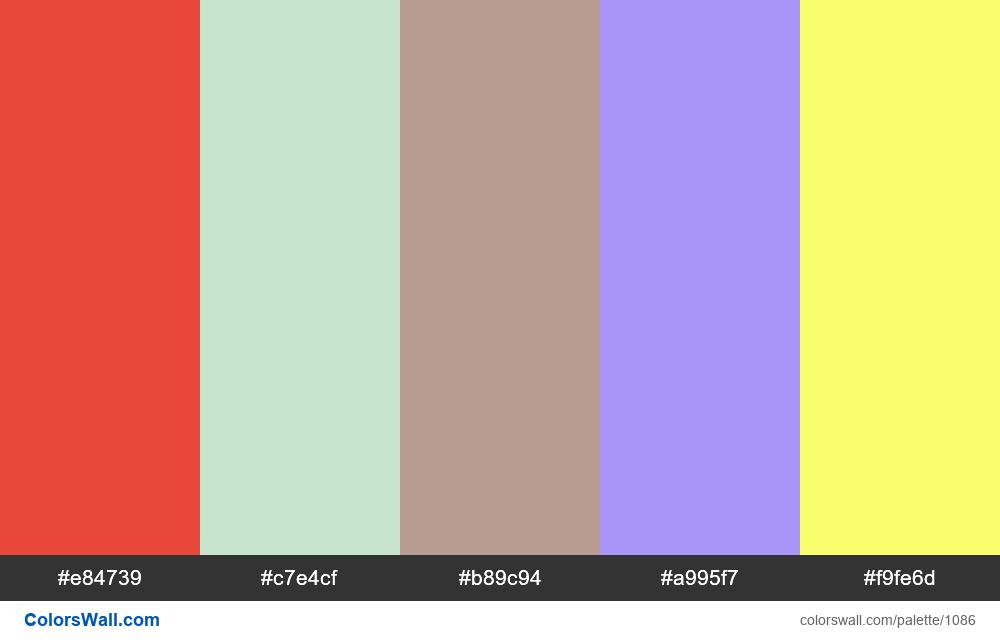 #colorswall random #566 colors palette - #1086