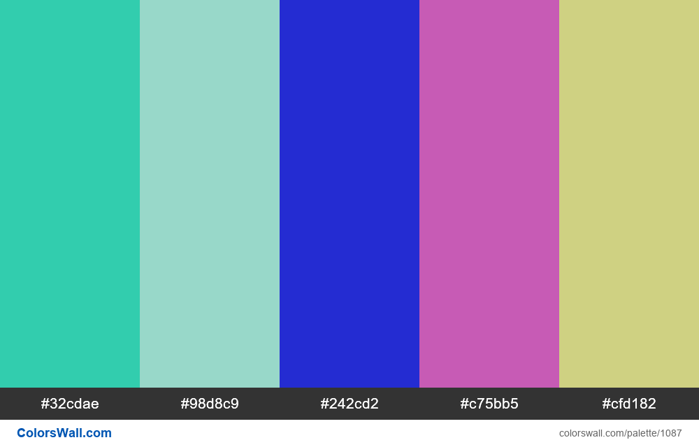 #colorswall random #567 colors palette - #1087