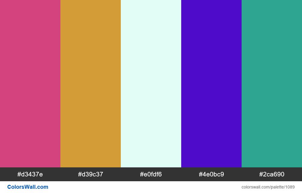 #colorswall random #569 colors palette - #1089