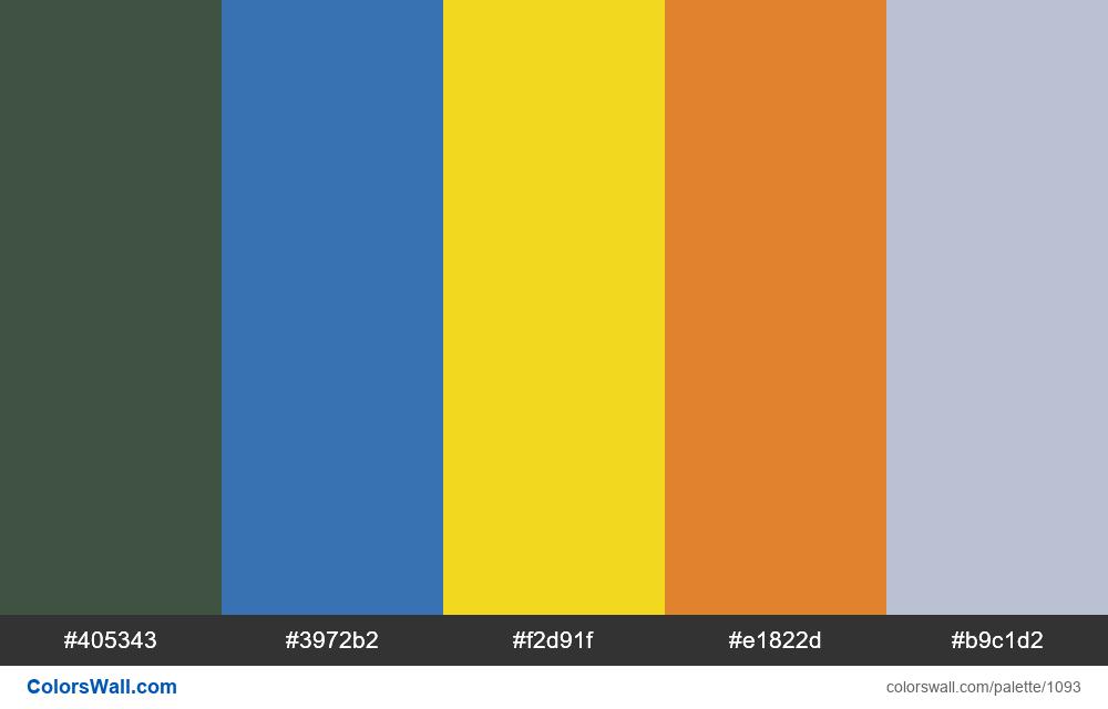 #colorswall random #573 colors palette - #1093